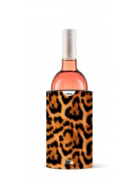 Tube wine and Champagne cooler Leopard